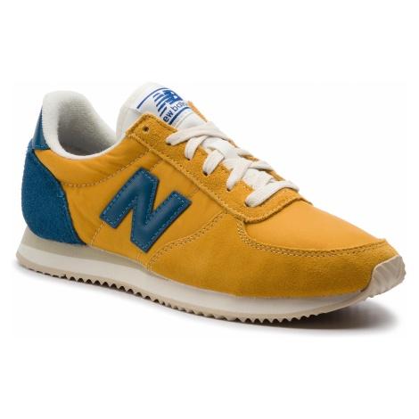 Sneakersy NEW BALANCE - U220FG Żółty