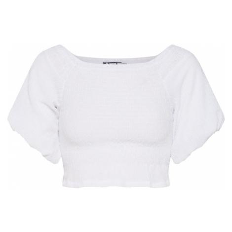 Fashion Union Top 'JENNY' biały