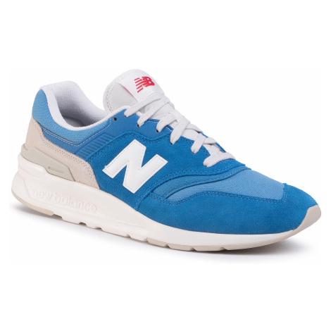 Sneakersy NEW BALANCE - CM997HBQ Niebieski