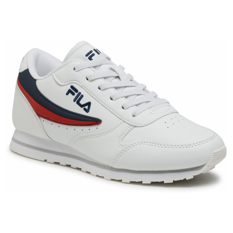 Sneakersy FILA - Orbit Low Kids 1010783.98F White/Dress Blue