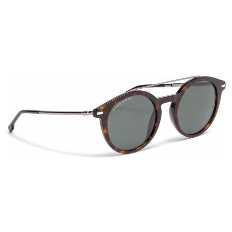 Okulary przeciwsłoneczne BOSS - 0929/S Dark Havana 086 Hugo Boss