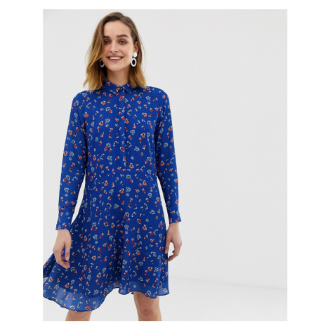Whistles ditsy floral print shirt dress