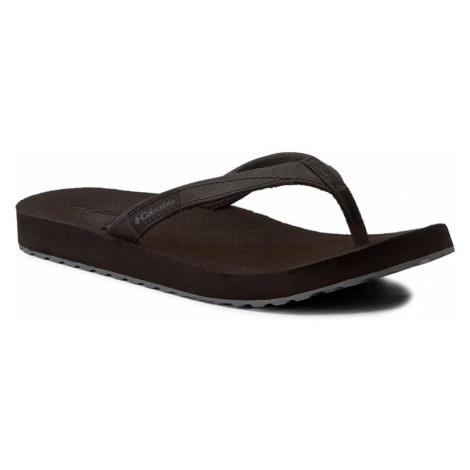 Japonki COLUMBIA - Sorrento Leather Flip Wmms BL4505 Black/Graphite 010