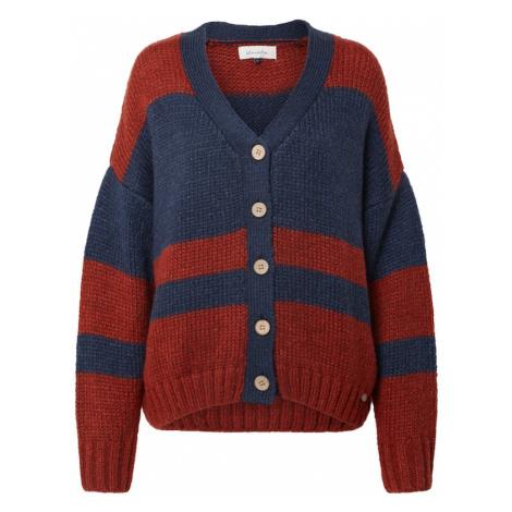 Blend She Sweter ciemny niebieski / rdzawoczerwony / rubinowo-czerwony