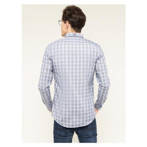 TOMMY HILFIGER Koszula Fresh Check MW0MW12168 Szary Slim Fit