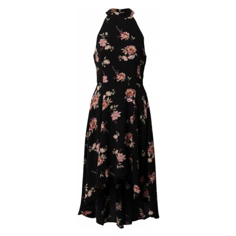 Mela London Sukienka koktajlowa czarny / mieszane kolory