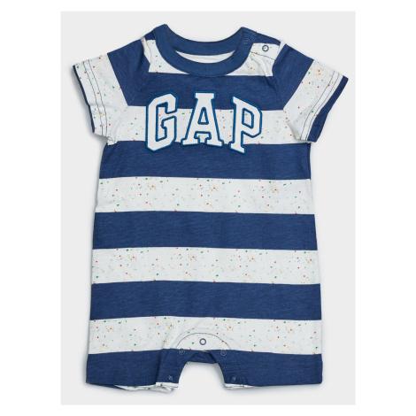 GAP niebieski baby kombinezon