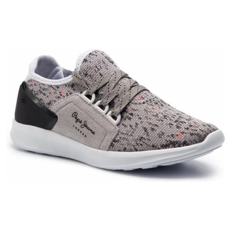 Sneakersy PEPE JEANS - Jayden Casual Boy PBS30393 Grey 945