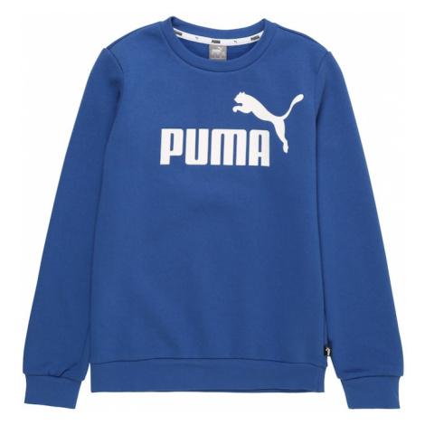 PUMA Bluza sportowa niebieski / biały