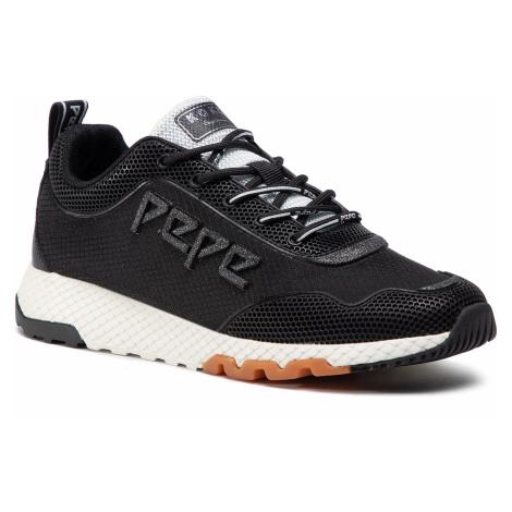 Sneakersy PEPE JEANS - Koko Ive 20 PLS31064 Black 999