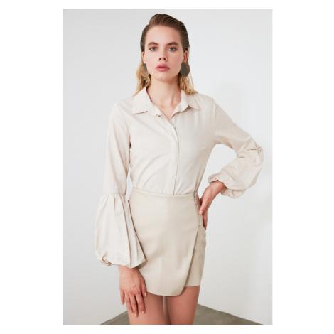 Women's shirt Trendyol Sleeve detailed