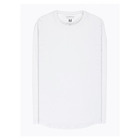 GATE Basic koszulka slim fit ze stretchem
