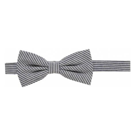 Esprit Collection Muszka 'striped bowtie' niebieski