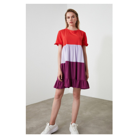 Women's dress  Trendyol Color Blocks