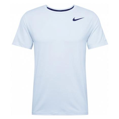 NIKE Koszulka funkcyjna 'Nike Pro' czarny / biały