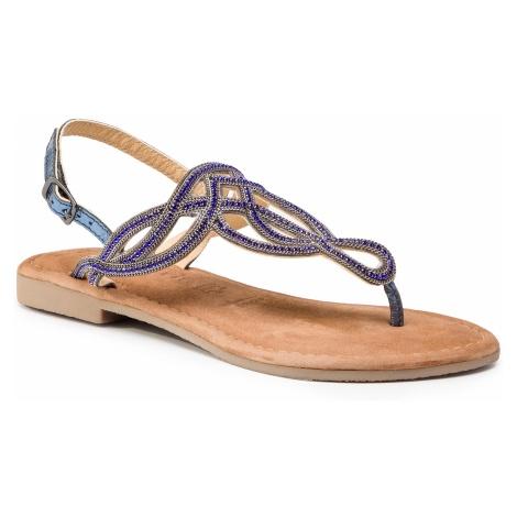 Sandały TAMARIS - 1-28115-22 Blue Metallic 884