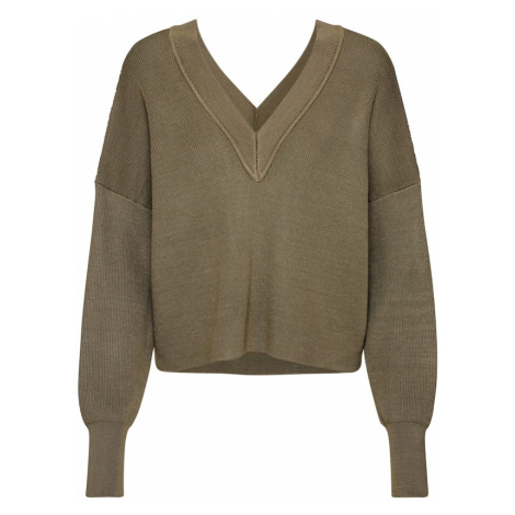 OBJECT Sweter oliwkowy