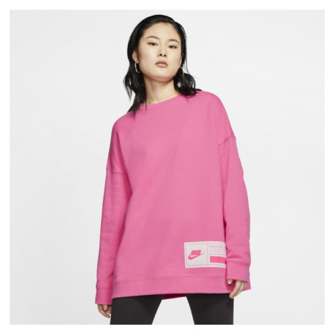 Damska bluza z dzianiny Nike Sportswear NSW - Różowy