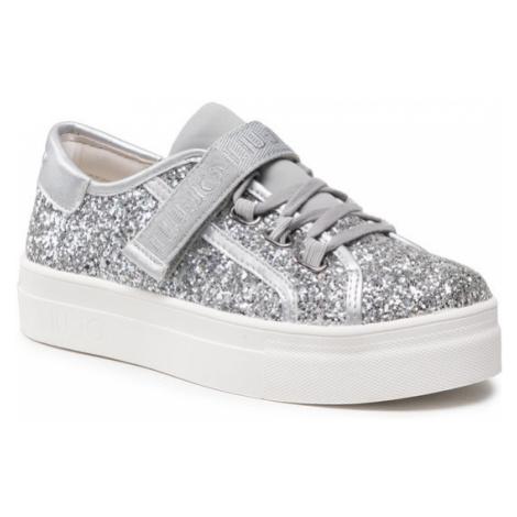 Liu Jo Sneakersy Alicia 26 4A1701 TX007 S Srebrny