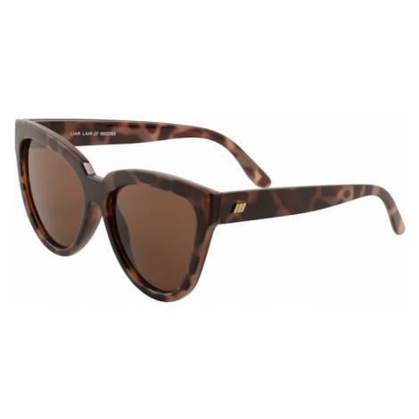 LE SPECS Okulary przeciwsłoneczne 'LIAR LAIR' brązowy