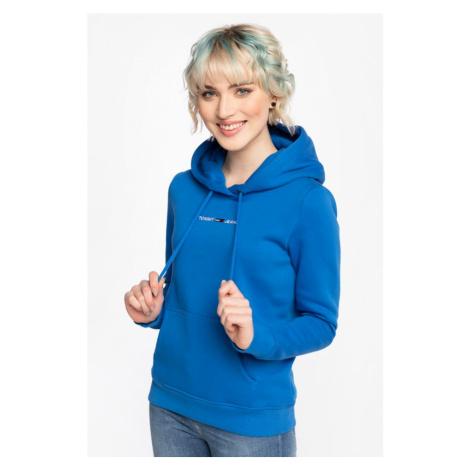 Bluza Tommy Jeans Z Kapturem Tjw Linear Logo Hoodie Dw0Dw10132C45 Blue Tommy Hilfiger