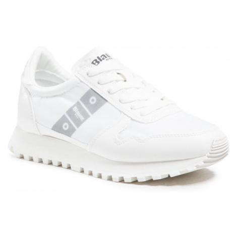 Blauer Sneakersy S1MERRILL01/NYR Biały