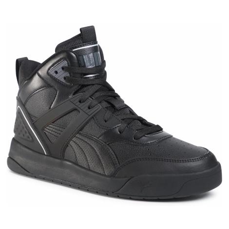 Sneakersy PUMA - Backcourt Mid 374139 05 Black/Black/Shadow/Silver