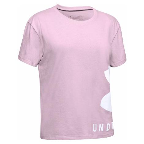 Under Armour Koszulka dziecięce Różowy Beżowy