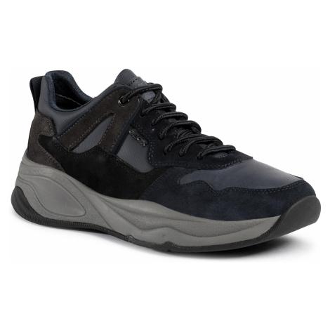 Sneakersy GEOX - U Tortona A U04ASA 022QG CF4L6 Navy/Mud