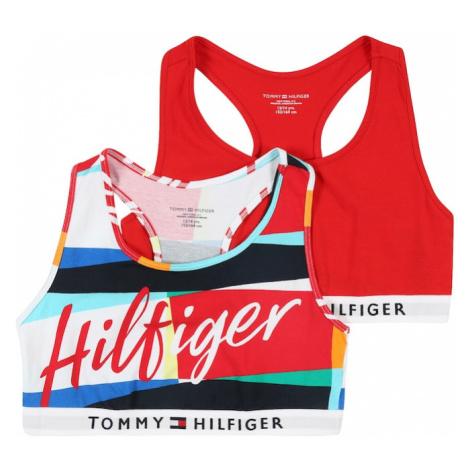 Tommy Hilfiger Underwear Biustonosz czerwony / ciemny niebieski
