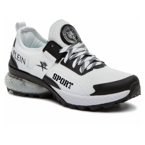 Sneakersy PLEIN SPORT - Runner Tiger P19S WSC1294 STE003N White 01