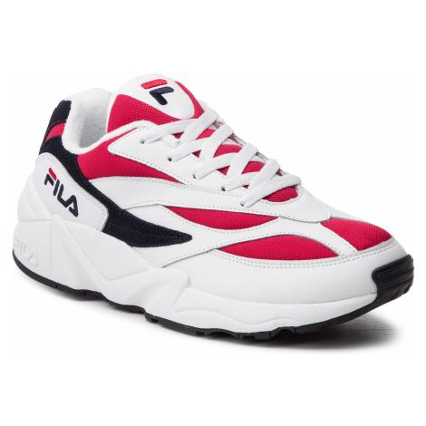Sneakersy FILA - V94M Low 1010255.150 White/Fila Navy/Fila Red