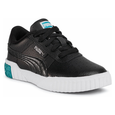 Sneakersy PUMA - Cali Ps 373156 02 Puma Black/Viridian Green