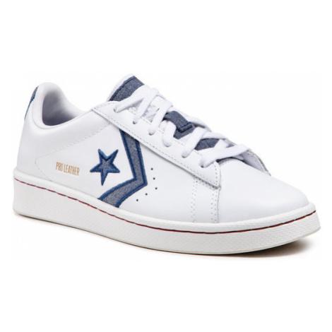 Converse Sneakersy Pro Leather Ox 168787C Biały