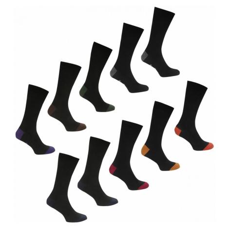 Lee Cooper 10 Pack Socks Mens
