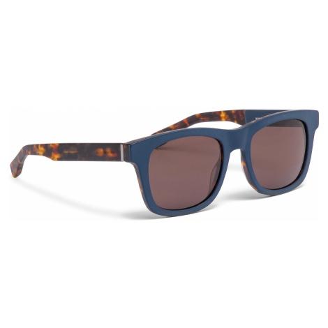 Okulary przeciwsłoneczne BOSS - 0337/S Mtblue Hvnbl U1F Hugo Boss