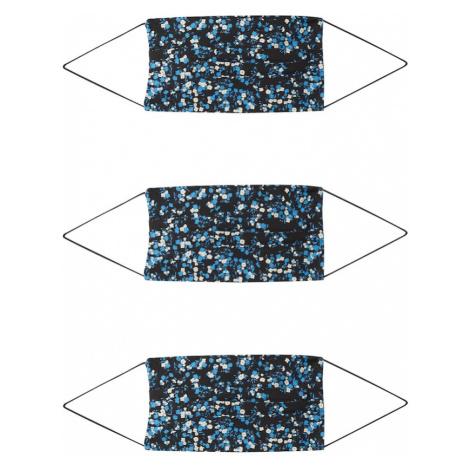 ONLY Maska z materiału '3er Pack ONLCOMMUNITY' niebieski