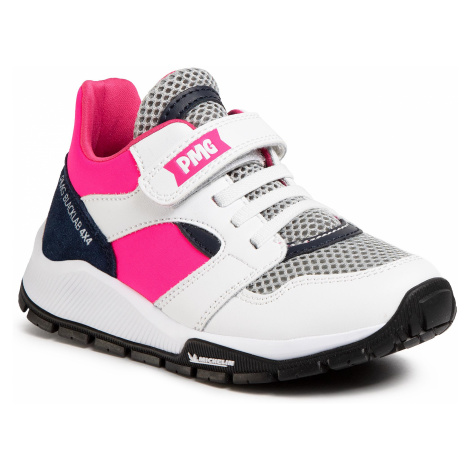 Sneakersy PRIMIGI - 5440700 M Bianco/F
