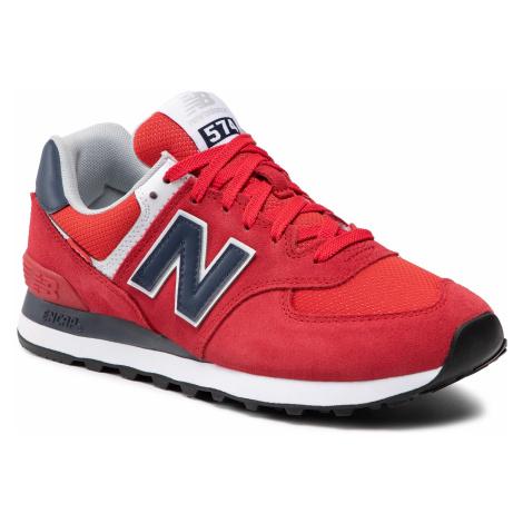Sneakersy NEW BALANCE - ML574SP2 Czerwony