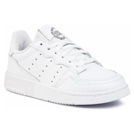 Buty adidas - Supercourt C EG0411 Ftwwht/Ftwwht/Cblack