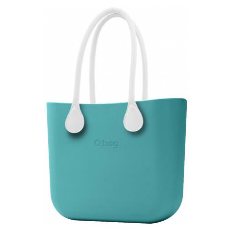 O bag torebka Aqua z białymi długimi uchwytami ze skajki
