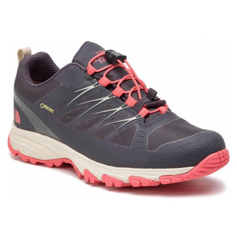 Buty THE NORTH FACE - Venture Fastlace GORE-TEX NF0A3FYZDC0 Blackened Pearl/Fiesta Red