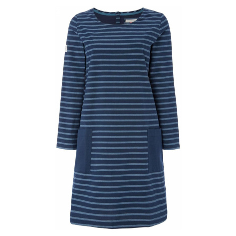 Brakeburn Striped Pocket Mini Dress