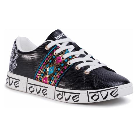 Sneakersy DESIGUAL - Cosmic Exotic Indian 20SSKP26 2000