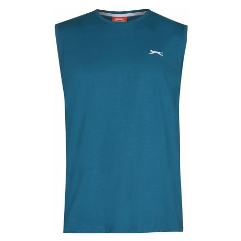 Niebieskie męskie sportowe podkoszulki