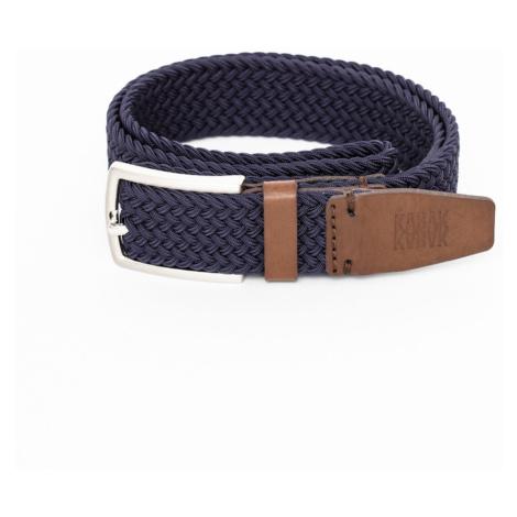 Kabak Unisex's Belt Woven Navy Blue