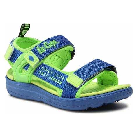 Sandały LEE COOPER - LCW-21-34-0215K Blue/Green