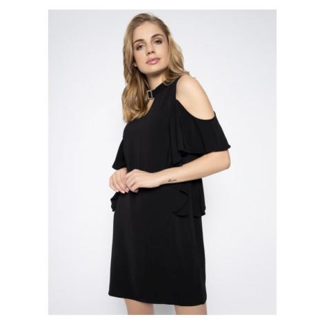 Guess Sukienka koktajlowa Philipa W0GK91 W9X50 Czarny Regular Fit