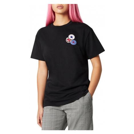 Koszulka damska Converse W Distort Tee 10019115-A02