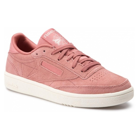 Buty Reebok - Club C 85 CN7027 Baked Clay/Sleek Met/Chlk